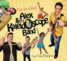 Product Review:  I'm So Glad CD by Alex & The Kaleidoscope Band (All Ages) .  Like what you see? ** Follow me on www.MommasBacon.com **