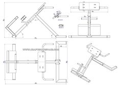 DIY back extension bench plans could be altered for