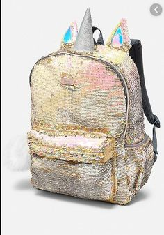 Centenarios Ladies Fashion Sequins Retro Casual Large Capacity Backpack