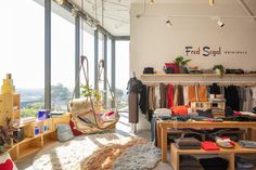 Fred Segal's Sunset Strip Boutique by Brand Studio Embodies California Dreamin' Stacked box storage Fun Places To Go, Things To Do, Hollywood Nightclubs, The Jackson Five, Los Angeles Shopping, Sunset Strip, French Bistro, California Dreamin', Trendy Home
