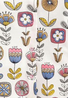 print & pattern blog : Chidlrens floral from Next ss2016