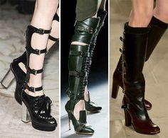 Fall/ Winter 2013-2014 Shoe Trends - Fashionisers