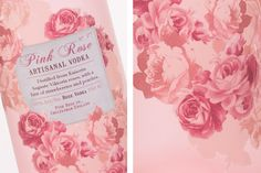 Pink Rose Artisanal Vodka - Mira Nersesova