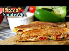 Pizza Sandwich Recipe | Quick & easy Breakfast Recipe Ideas for kids - Foods And Flavors