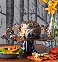 Halloween Party Snacks, Halloween Sweets, Halloween Appetizers, Halloween Spider, Easy Halloween, Spider Food, Creepy Food, Scary, Chocolate Cookie Dough