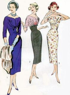 "Vintage Années 1950 sewing pattern Bombshell Pinup Superbe Chemisier Fête buste 32/"""
