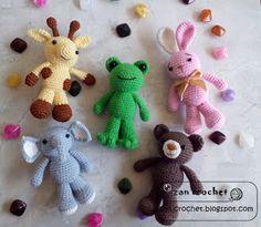 Animal Friends - NL version ~ Zan Crochet