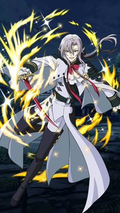 Owari no Seraph Bloody Blades - Ferid Bathory