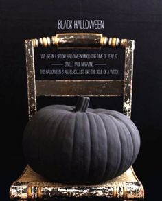 OMG WHAT IF YOU MADE A CHALKBOARD PAINT PUMPKIN!!!