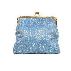 Large Moomin lace patterned clutch bag by Ivana Helsinki