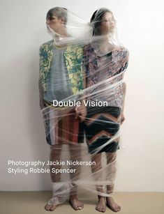 Double Vision Photographer Jackie Nickerson and stylist Robbie Spencer teamed up to create this editorial for the Fall/Winter 2014 issue of Dazed & Confused magazine.