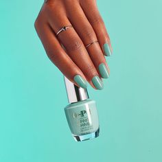 Try the new Verde Nice to Meet You Long Lasting Nail Polish from the OPI Mexico City Collection. Answer Mexico City's call with this color from OPI! Green Nail Polish, Green Nails, Opi Nails, Manicure, Interview Nails, Long Lasting Nail Polish, City Nails, Classic Nails, Gel Color