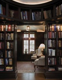 Could totally picture having this a part of a library in my home