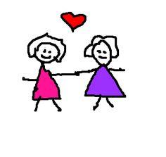 duas amigas, desenho gifs - Pesquisa Google