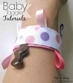 Baby Taggie Tutorials - The Ribbon Retreat Blog