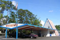 Whataburger- the best!! Been to this exact place many times after a late night. Tallahassee, FL Thomasville Rd.