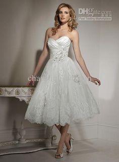 Short and sassy princess ballgown.