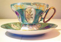 Antique Tea Cups | Vintage Lusterware Tea Cup | Flickr - Photo Sharing!