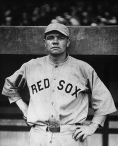 Photo of the Day: Babe Ruth On The Red Sox – The Roosevelts