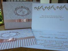 Convite de Casamento Pâmela Rosê