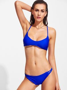 Braided Racerback Bikini Set