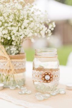Loving the details of this #weddingdecor! {Stephanie Rawcliffe Photography}