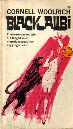 Black Alibi, Cornell Woolrich, Cover by Dick Cuffari