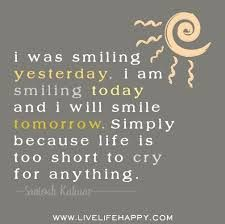 short quotes about smile and happiness - Google Search
