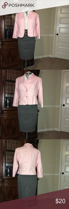 "Pink Jacket Fully lined Spring Jacket. EUC ""excellent used condition"" the item is like new, with little or no wear and tear. George Jackets & Coats Blazers"