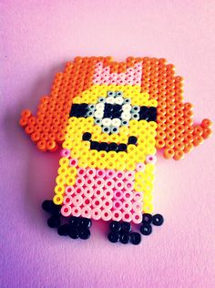 "Minion ""Despiceble me"" hama perler beads"