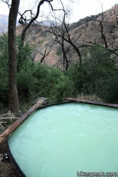 Willett Hot Springs - Sespe Wilderness, CA (19 mile hike round trip) (Southern CA)