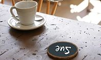 It doesn't matter if it's on a coaster or a chair, chalkboard paint can go almost anywhere!