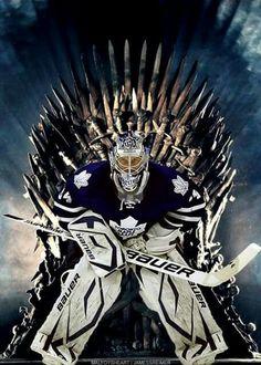 Ye shall not pass! Hockey Baby, Hockey Goalie, Hockey Players, Ice Hockey, Hockey Live, Leafs Game, Maple Leafs Hockey, Goalie Mask, Wayne Gretzky