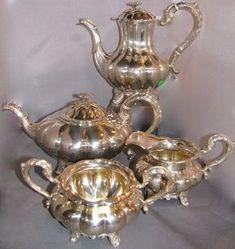 GR Birks Sterling silver tea service