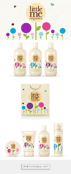 Little Me Organics Packaging by R Design | Fivestar Branding – Design and Branding Agency & Inspiration Gallery