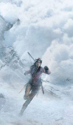 Lara Croft Rise Of The Tomb Raider wallpapers   www.fabuloussavers.com/games-desktop-wallpapers.shtml