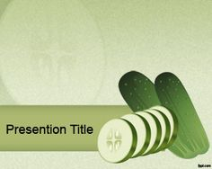 This Is Green Apple Powerpoint Template A Free Ppt Template With