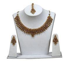 Indian Bollywood Elegant Necklace Set With Earring Design... https://www.amazon.com/dp/B07B6MQY13/ref=cm_sw_r_pi_dp_U_x_iJDSAbFQ6Q150