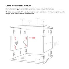 Como montar cada módulo