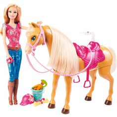 Barbie etson cheval tawny