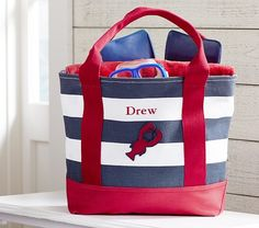 Beach Totes, Beach Gear & Beach Gear for Kids Baby Baker, Mother Day Wishes, Baby Registry, Gift Registry, Beach Gear, Baby Furniture, Pottery Barn Kids, Summer Kids, Navy Stripes