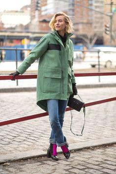 Zanita Williams - уличная мода осень/зима 2015-2016