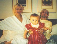 Courtney Love, Frances & Kurt Cobain