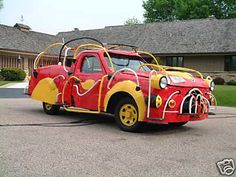 dr seuss firetruck Crazy Dr. Seussian Style Firetruck for Sale