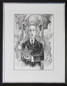 H P Lovecraft Comic Art