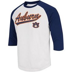 Be the first to grab this old-school Auburn Franchise Raglan tee and proudly proclaim that you're bringing back this classic look.