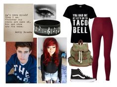 """Nash"" by bananathecockatiel ❤ liked on Polyvore featuring Vans and Wet Seal"