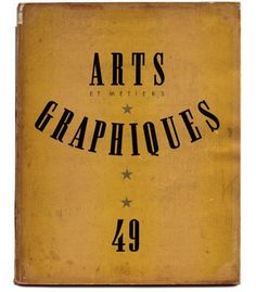 Sign us up for the wait-list to peek inside!  Arts & Métiers graphiques (1927-1939)