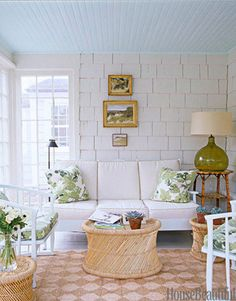 Decorating a Room with Shaker Shingle Walls | Decorating Files | decoratingfiles.com