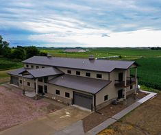 maximize your building use with this plan! Morton Building Homes, Steel Building Homes, Building A House, Metal Barn Homes, Pole Barn Homes, Le Ranch, Pole Barn House Plans, Barn Living, Metal Buildings